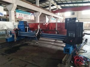 Aluminium-Gantry-CNC-plasma-vlam-cutting-Machine45